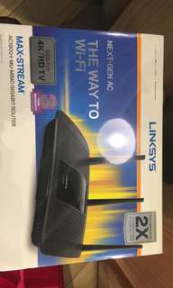 Linksys Max-Stream AC1900+ MU-MIMO Gigabit Router