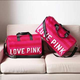 *New arrival PO Authentic Love pink Victoria secret Duffle gym /travel Bag * Waiting time 14 days after payment is made *pm if int