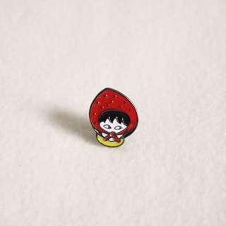 Red Thief Enamel Pin