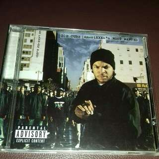Ice cube Amerikkka's Most wanted and Kill at will EP bonus tracks original USA pressing cd used Rap