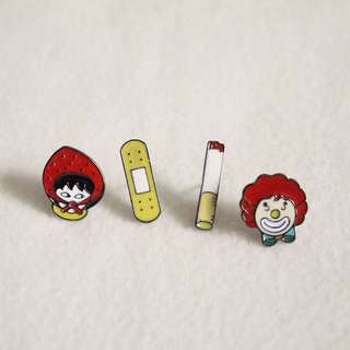 Mix Enamel Pin Pack