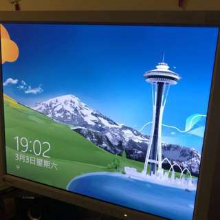 "70% new EIZO FlexScan L685 - LCD monitor - 18.1"" Series horizontal vertical adjustable 可較高低"