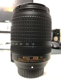 Nikon 18-140mm f/3.5-5.6 VR DX