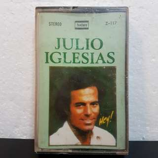 (Sealed)Cassette》Julio Iglesias - Hey!