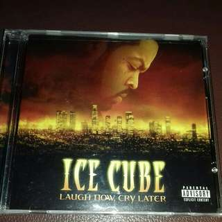 Ice cube Laugh now Cry Later original USA pressing cd used like new Rap, WC, Snoop dogg, kokane