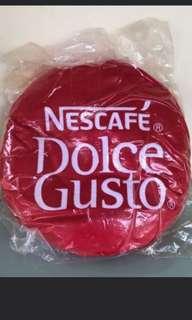 BNIP Nescafe dulce gusto cushion ( Red)