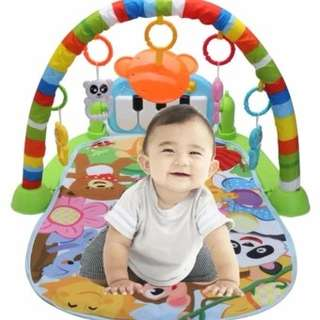 Baby play toys activity baby Gym educational fitness frame toys, music piano, excercise racks and intelligence toys