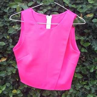 Ivanca Pink Crop