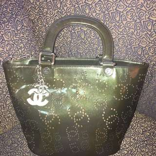 Chanel Perforated Patent Bag