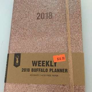 Brand new typo planner-rose gold