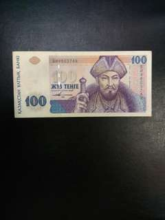 Kazakhstan 100 tenge 1993 issue
