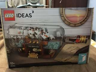 Lego Ideas - Ship in a Bottle