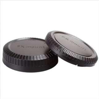Fujifilm Rear Lens Cap + Body Cap