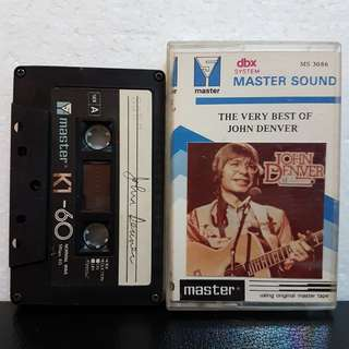 Cassette》The Very Best Of John Denver