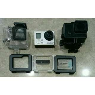 Go Pro Hero 3+ (PRICE NEGOTIABLE)(URGENT!)
