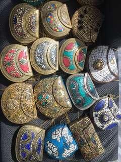 Ceramic handbag