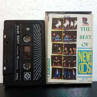 Cassette》The Best Of New Kids On The Block