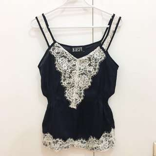 Silk Laced Top