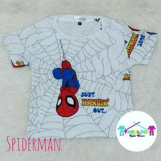 Kaos anak Spiderman Full Print
