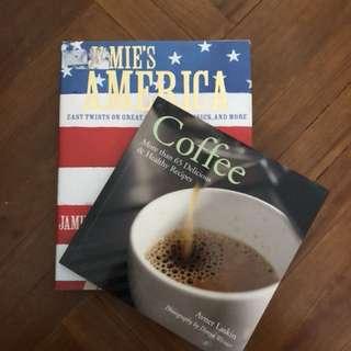 Jamie's America & Coffee Recipes book