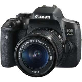 Canon eos 750D kit 18-55mm f3.5-5.6 IS STM WIFI
