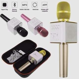 Brand New Q9 Bluetooth Karaoke KTV Microphone