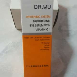 DR.WU Whitening /Brightening Eye Serum With Vit C
