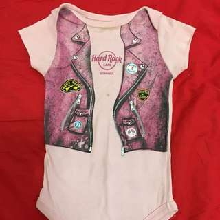 Hard Rock Istanbul Baby Girl rompers