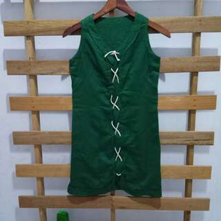 Bkk green woman dress