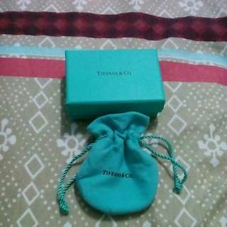 Tiffany & Co ring box & pouch