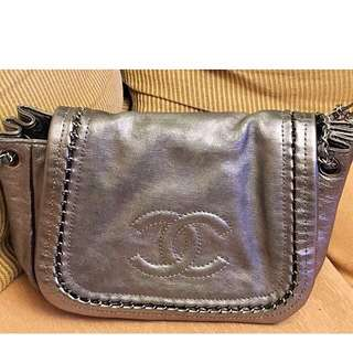 Chanel luxe metallic bag