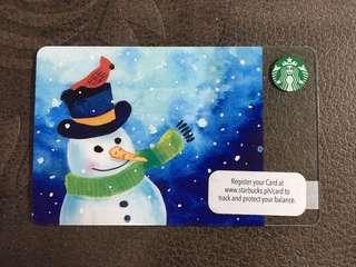 PH Starbucks Card