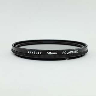Vivitar Polarizing Filter (58mm)