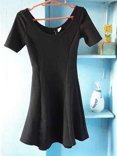 Divided H&M Black Dress