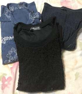 Bundle! 3 blouses