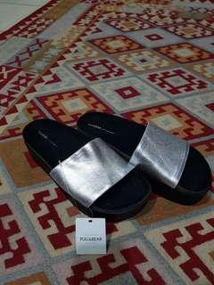 Pull and Bear platform sandal