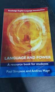 Language and Power Paul Simpson and Andrea Mayr