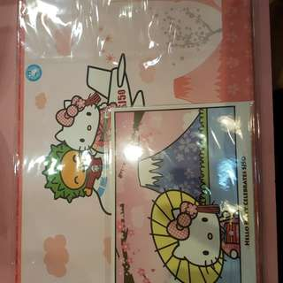 Hello kitty x SJ50 stamp
