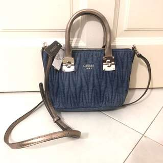 Guess Denim Sling Bag