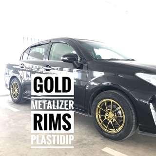 Gold Metalizer Plastidip