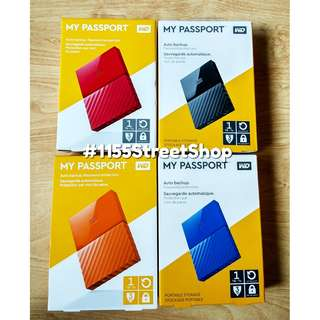 Western Digital My Passport 1Terabyte External Hard Drive