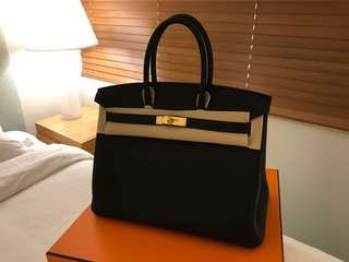 Hermes Birkin 35 togo, Negotiable