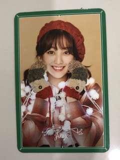 TWICE Merry & Happy Official Jihyo Photocard