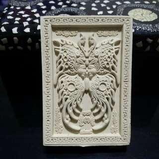 Kruba Krissana Dream Jumbo Butterfly Amulet