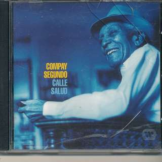 Compay Segundo - Calle Salud (LATIN JAZZ) AUDIO CD (MADE IN EUROPE) [y6]