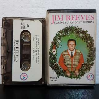 Cassette》Jim Reeves - Twelve Songs Of Christmas