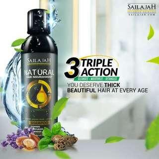 Sailajah shampoo and hair serum