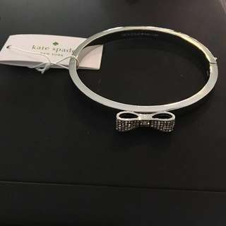 Kate Spade Signature Bow Bangle. Authentic