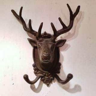 裝飾鹿頭牆鈎