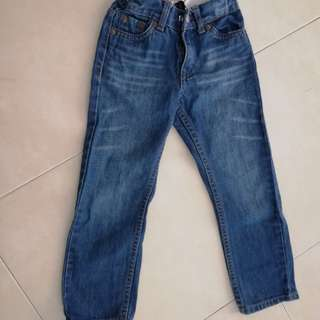 Original levis for kid